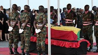 Ghanaian public, dignitaries pay final respect to Kofi Annan