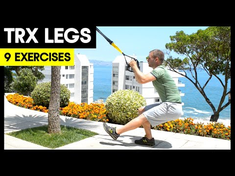 9 TRX Leg Exercises