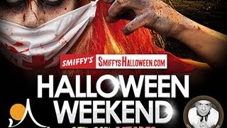 The Smiffy's Halloween Weekend - Sugar Hut Brentwood - 25th-28th October