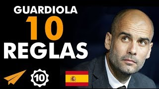 """""""¡Apasiónate!"""" Las 10 reglas para el éxito de Pep Guardiola"""