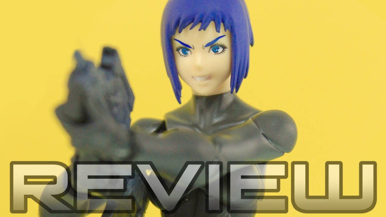 Figma 274 Motoko Kusanagi The New Movie Ver Ghost In The Shell Anime Figure Review Youtube