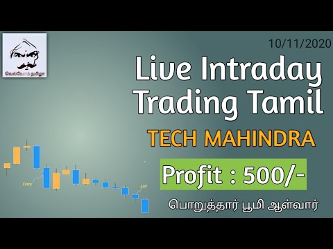 Live Intraday Trading in Tamil || Live Breakout Trading in Tamil || Price Action Trading in Tamil
