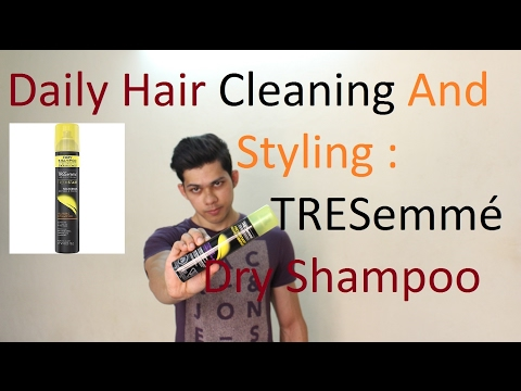 Tresemme Dry Shampoo Styling and Cleaning | Daily Use Shampoo