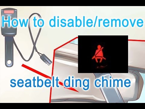 How to remove seatbelt ding chime with VCDS - Vw, Skoda, Audi, Seat