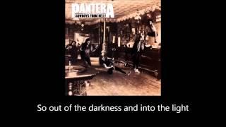 Pantera - Cowboys from Hell (Lyrics)