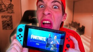 QUÉ LE PASA A FORTNITE EN NINTENDO SWITCH