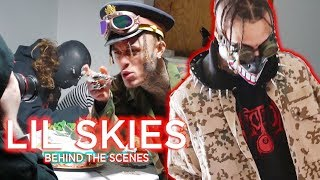 NEW Lil Skies - Lettuce Sandwich MUSIC VIDEO! (BEHIND THE SCENES with Skies!)
