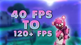 HOW TO GET MORE FPS IN FORTNITE BATTLE ROYAL!! NEW METHODS!! (WORKING 2018)!