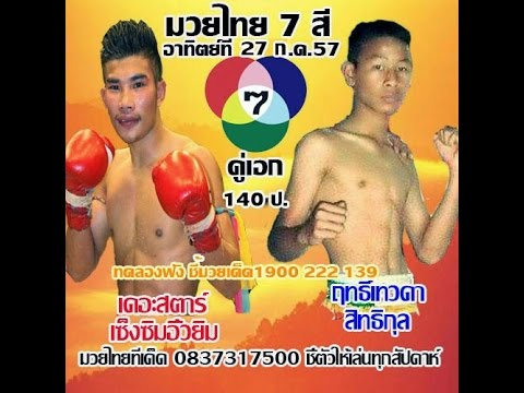 ทัศนะวิจารณ์ศึกมวยไทย 7 สี วันอาทิตย์ที่ 27 กรกฎาคม 2557  พร้อมฟอร์มหลัง
