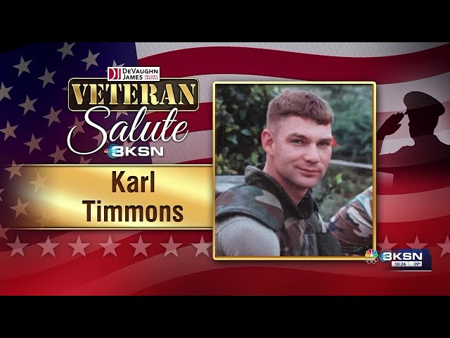 Veteran Salute: Karl Timmons