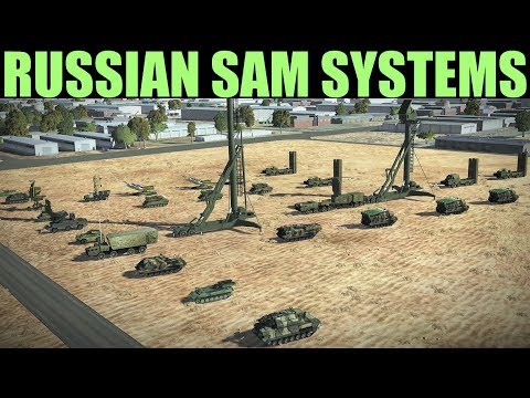 Russian SAM Systems 1950-1990 Expained