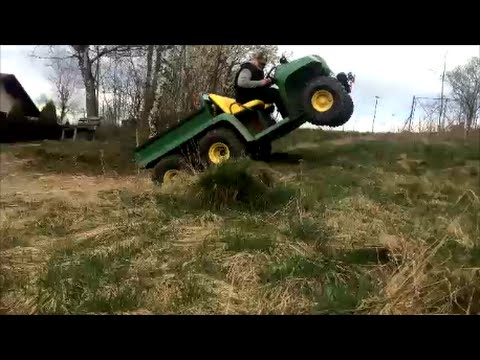 john deere gator 6x4 at work youtube. Black Bedroom Furniture Sets. Home Design Ideas