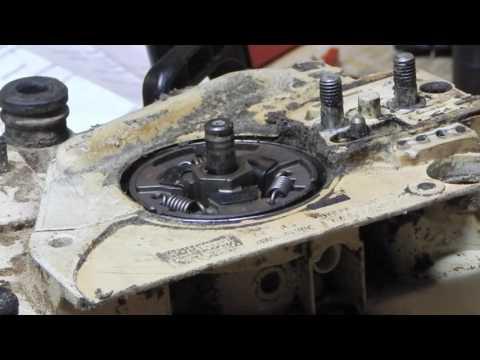 Stihl MS170 chainsaw automatic oiler repair part 2