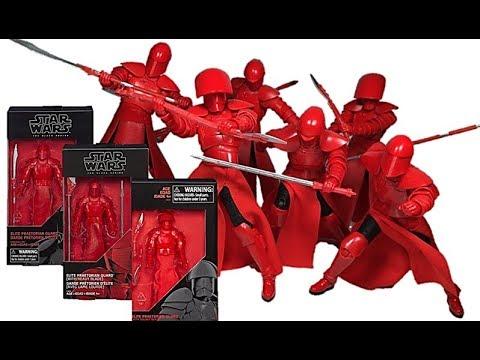 "ELITE PRAETORIAN GUARD Star Wars The Black Series 6/"" Action Figure The Last Jedi"