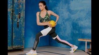 Оставайтесь дома Алина Загитова записала видео тренировки