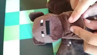 Обзор мягкой игрушки Minecraft летучая мышь