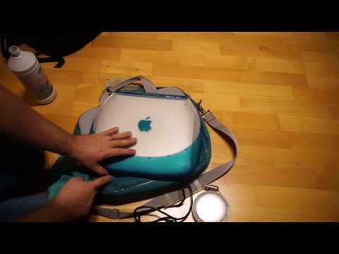 Apple Ibook Clamshell: The Cleaning ore how to clean used stuff