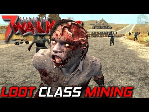 Fast Class Paper Mining? | WOTW MOD | 7 Days To Die Let's Play | S3 EP28