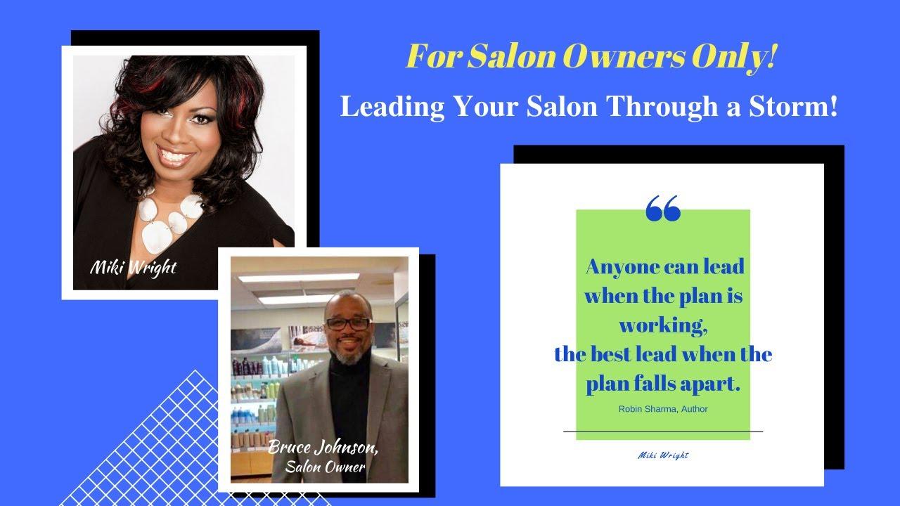 Leading Your Salon Through a Storm