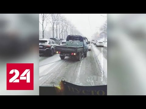 """""""Погода 24"""": снегопад во Владивостоке достигает своего пика - Россия 24"""