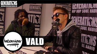 Vald - Interview XEU (Live des studios de Generations)