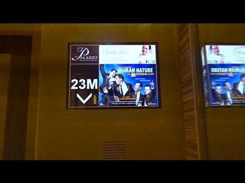 Beautiful, High Speed, Hi-Rise Otis Elevators - Palazzo - Las Vegas, Nevada