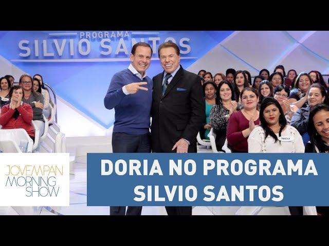 Silvio Santos sugere a Doria chapa com Jair Bolsonaro | Morning Show