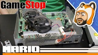 Opening a Refurbished Xbox 360 from GameStop - Behold the Bolt & Fan Mods!