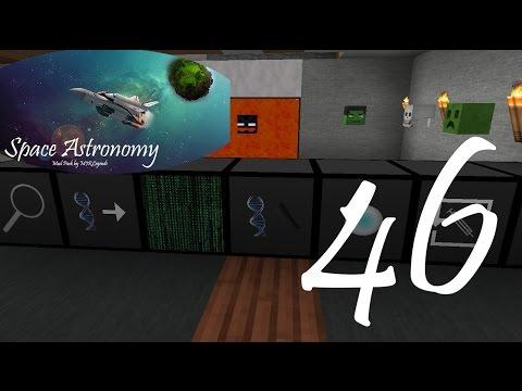 Minecraft: Space Astronomy #46 -Volle Power Genetic Forschen (Lets play Deutsch German HD)