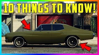 10 Things You NEED To Know BEFORE You Buy The Declasse Tulip In GTA Online! (GTA 5 DLC Update)