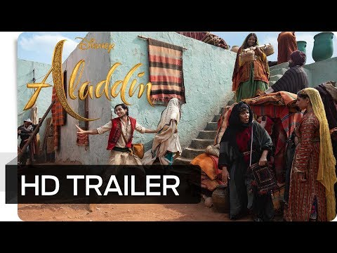ALADDIN - 2. Offizieller Trailer (deutsch/german) | Disney HD