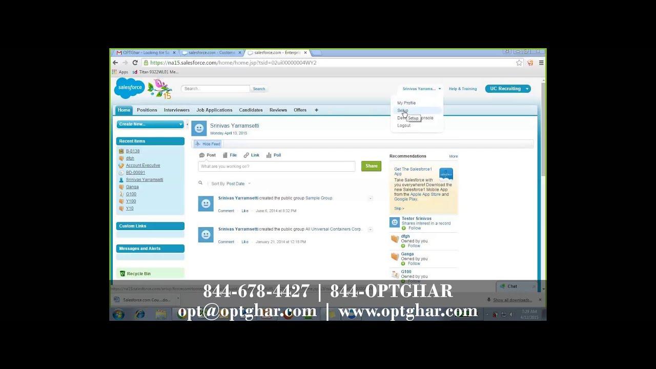 Salesforce Online Training: Salesforce Free Training, Free Salesforce  Developer & Admin Training