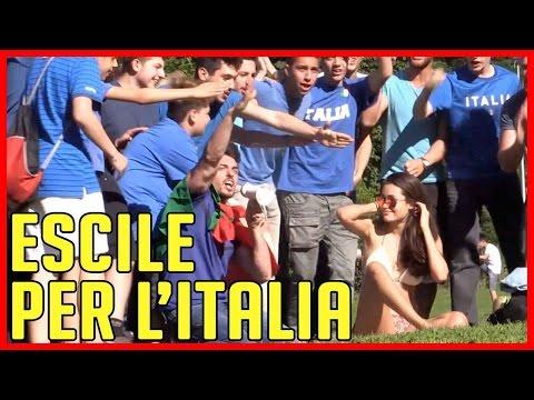 Escile per l'Italia - SPECIALE EUROPEI 2016 - [Esperimento Sociale di Massa] - theShow