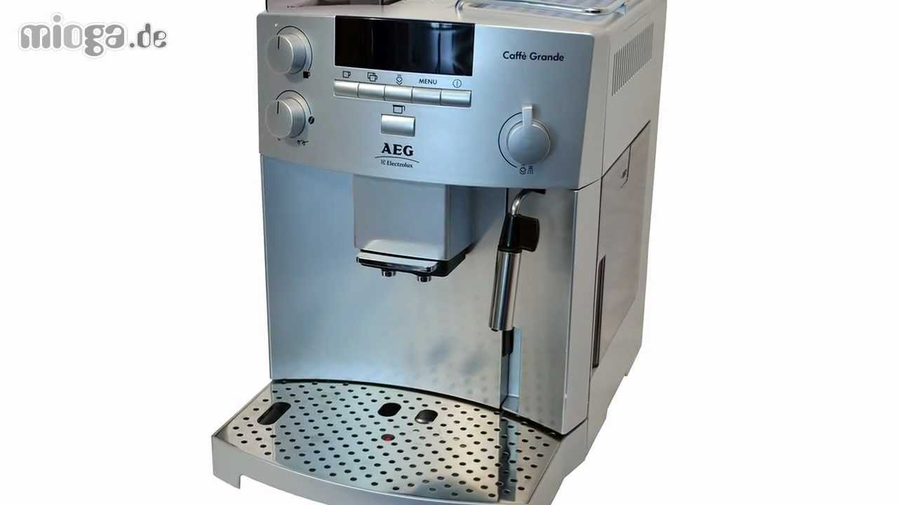 Aeg caff grande cg 6400 youtube - Machine a cafe electrolux ...