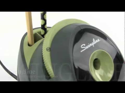 Swingline SpeedPro Electric Pencil Sharpener Demo YouTube