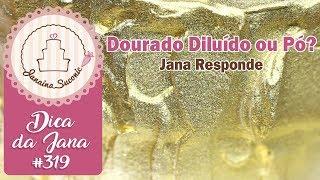 Dica da Jana #319 Corante Diluido ou Seco - Por Janaina Suconic