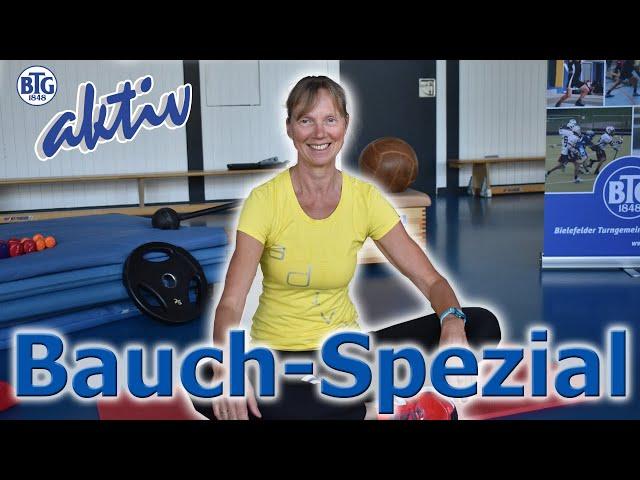 Bauch-Spezial mit Jutta