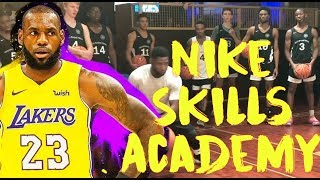 Lebron James Nike Skills Academy Basketball training