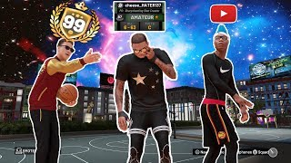 I LET A 70 OVERALL TURN INTO A 99 OVERALL for a day ... nba 2k19 my park 99 overall helps 70 overall