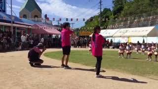 長崎小鳩幼稚園 平成29年9月30日 運動会 うさぎこあら組 お遊戯