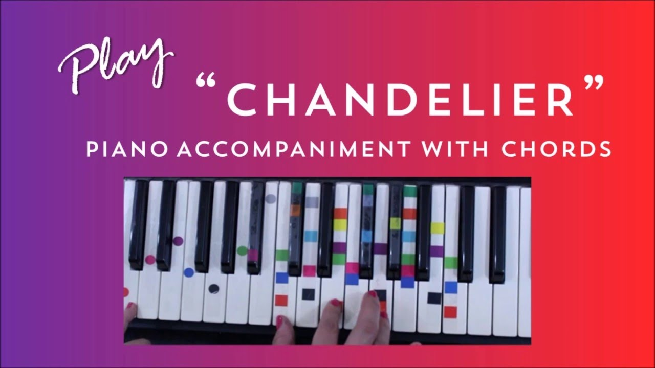 How to Play Sing Chandelier - Sia & David Guetta | Easy Piano ...