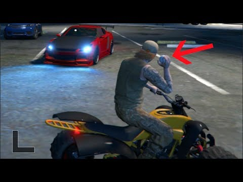 GTA 5 FiveM RP -  BaseBall VS GTR Window *Guy Gets Angry*