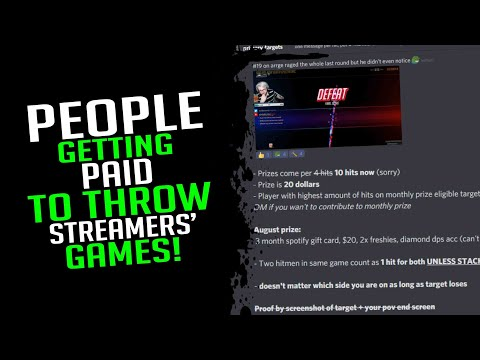 People Are Getting Paid To Throw Games In Overwatch! - Overwatch Streamer Moments Ep. 115 |