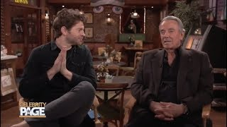 Talking With Soap Legend Eric Braeden On The Set Of 'Y&R' | Celebrity Page