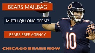 Chicago Bears Rumors On Mitch Trubisky, Free Agency Targets, Salary Cap & NFL Draft | Mailbag