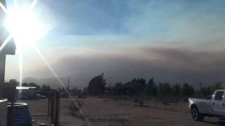 4000 acre fire in Kern County California