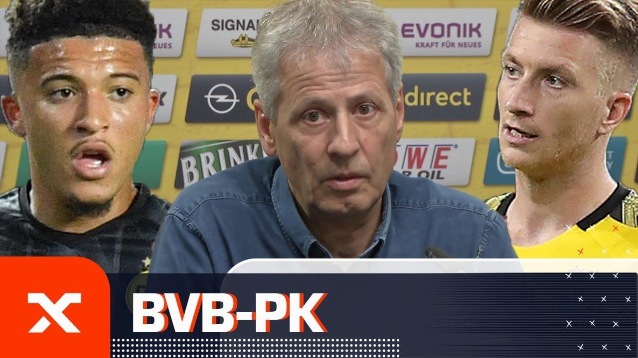Lucien Favre: Erwartungen an Sancho enorm und Reus' Formtief überwunden | Borussia Dortmund | SPOX
