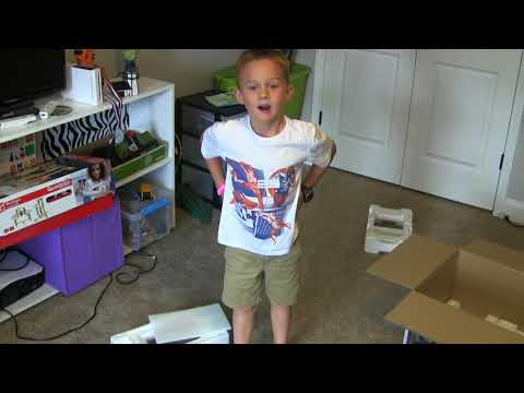 Jonah's Epic Review of new 5-disc CD stereo - SHARP XL-BH250 - part 3