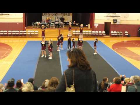 Oaklea Middle School - Winter Cheer High School Performance