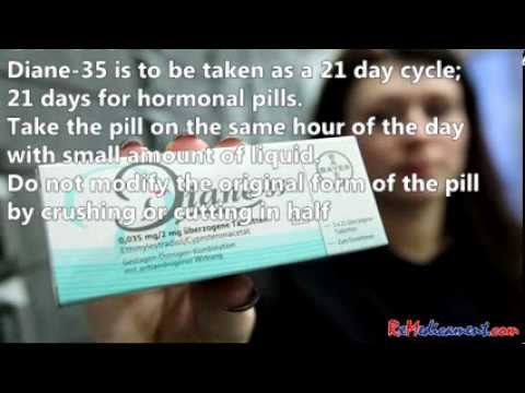 Diane 35 Birth Control And Dermatology Treatment Youtube